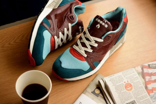 "hanon Shop x Diadora N9000 ""Saturday Special"""