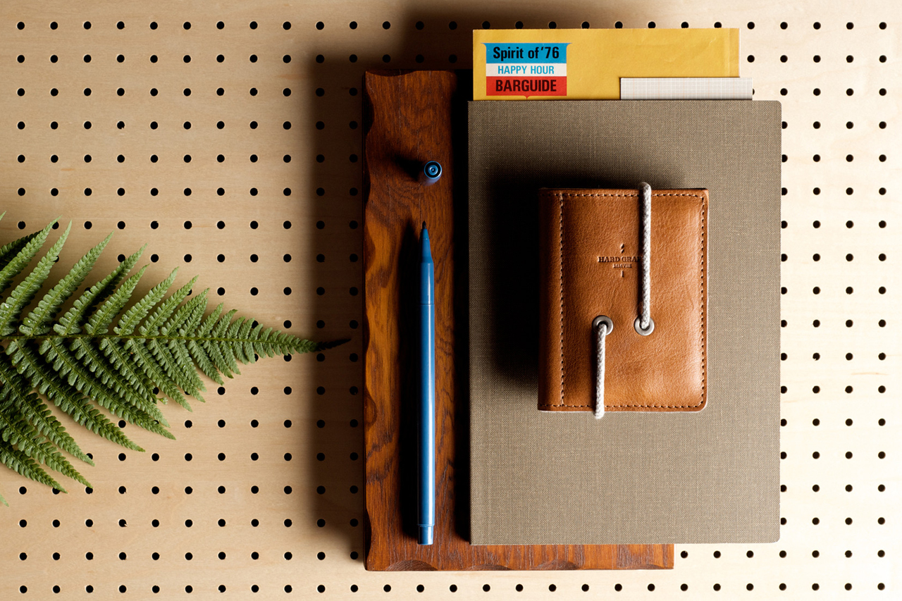 hard graft Leather Credit Card Wallet