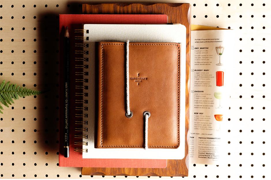 hard graft Leather Passport Wallet