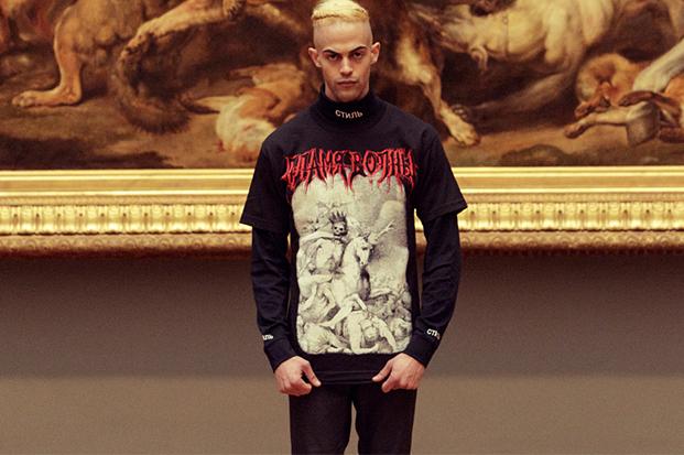 "Heron Preston x SHOWstudio ""Death On A Pale Horse"" T-Shirt"