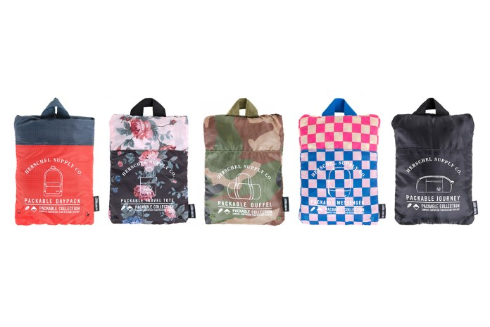 Herschel Supply Co. 2014 Summer Packable Collection