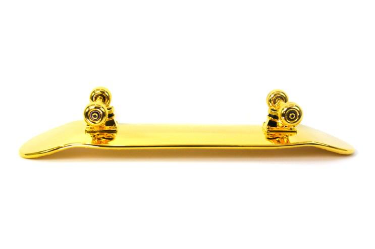 How a $15,000 USD Golden Skateboard Gets Made