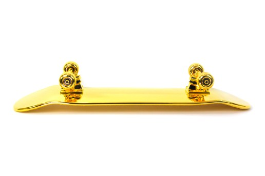 How a $15,000 USD Golden Skateboard Gets Made