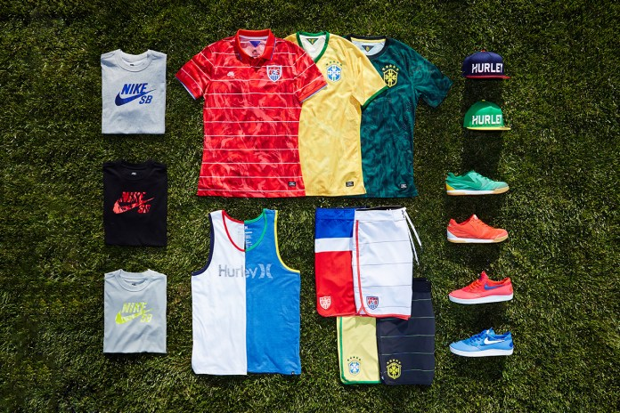"Hurley for Nike SB ""National Teams"" Collection"