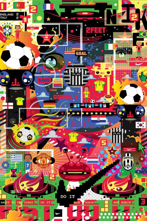"Nike Hypersense ""The Art & Science of Modern Football"" @ ArtScience Museum Singapore"