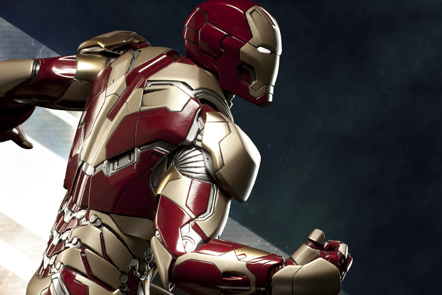 Iron Man Mark 42 Maquette Preview