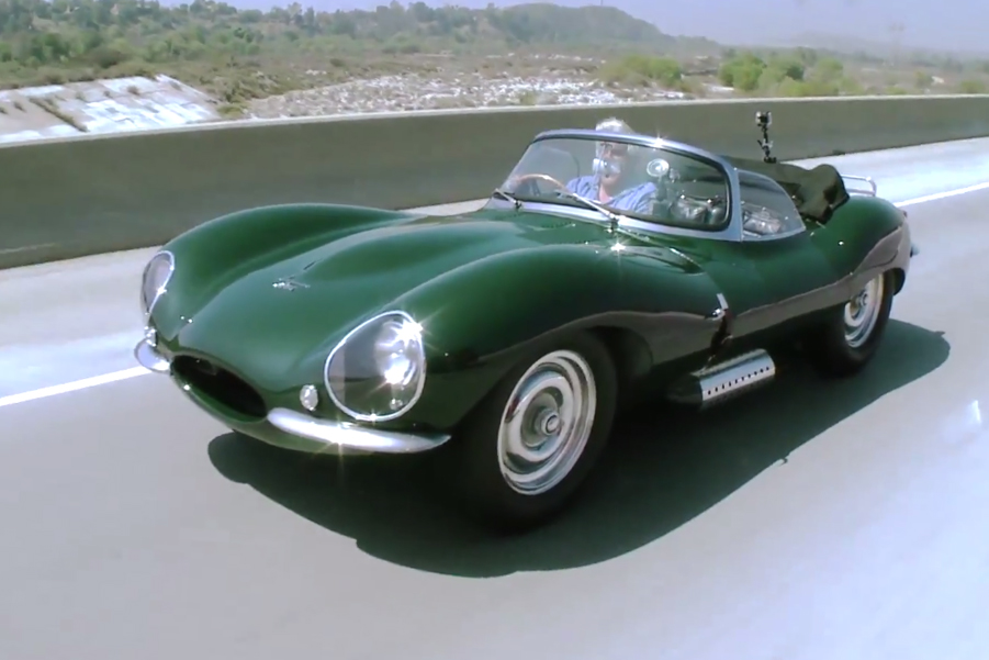 Jay Leno's Latest Highlight is Steve McQueen's Old 1956 Jaguar XKSS
