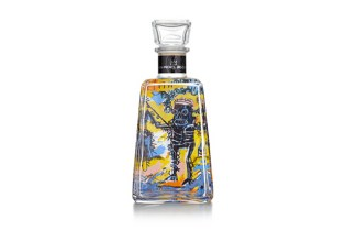 Jean-Michel Basquiat x 1800 Tequila Limited-Edition Bottles