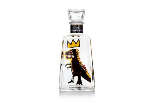 Jean-Michel Basquiat x 1800 Tequila Limited-Edition Bottles