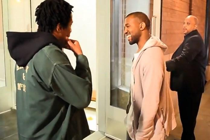 Kanye West Lets a Rapper Audition on the Street