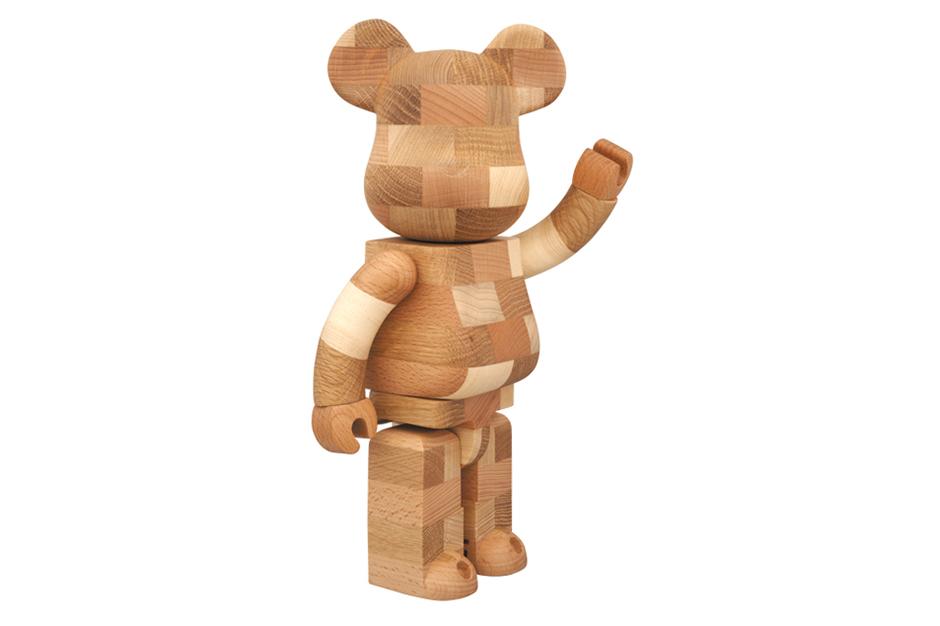 karimoku x medicom toy 400 handmade bearbrick