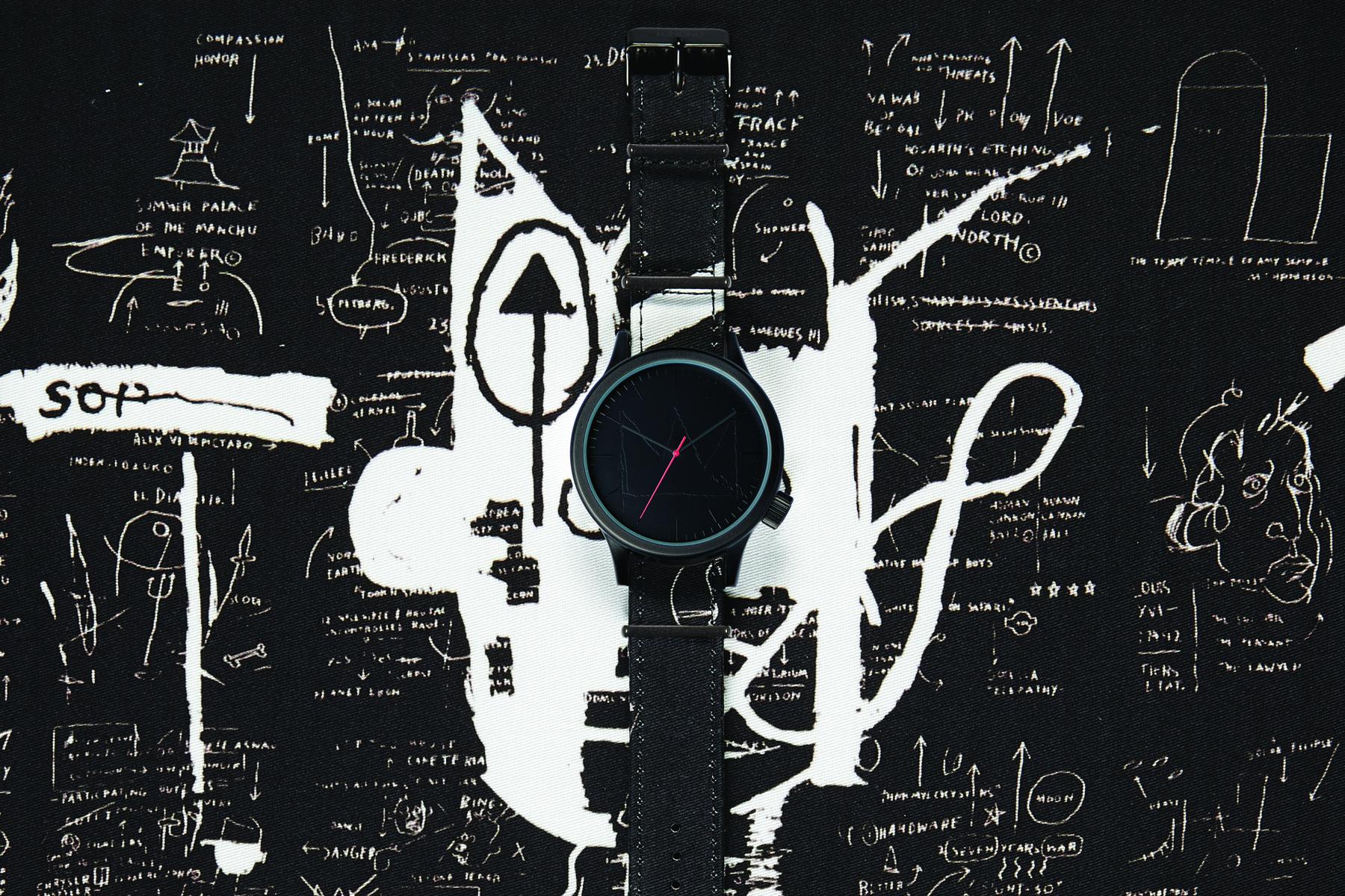 komono x basquiat 2014 spring summer watch collection