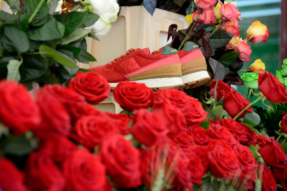 limiteditions x le coq sportif 10th anniversary eclat rose exd
