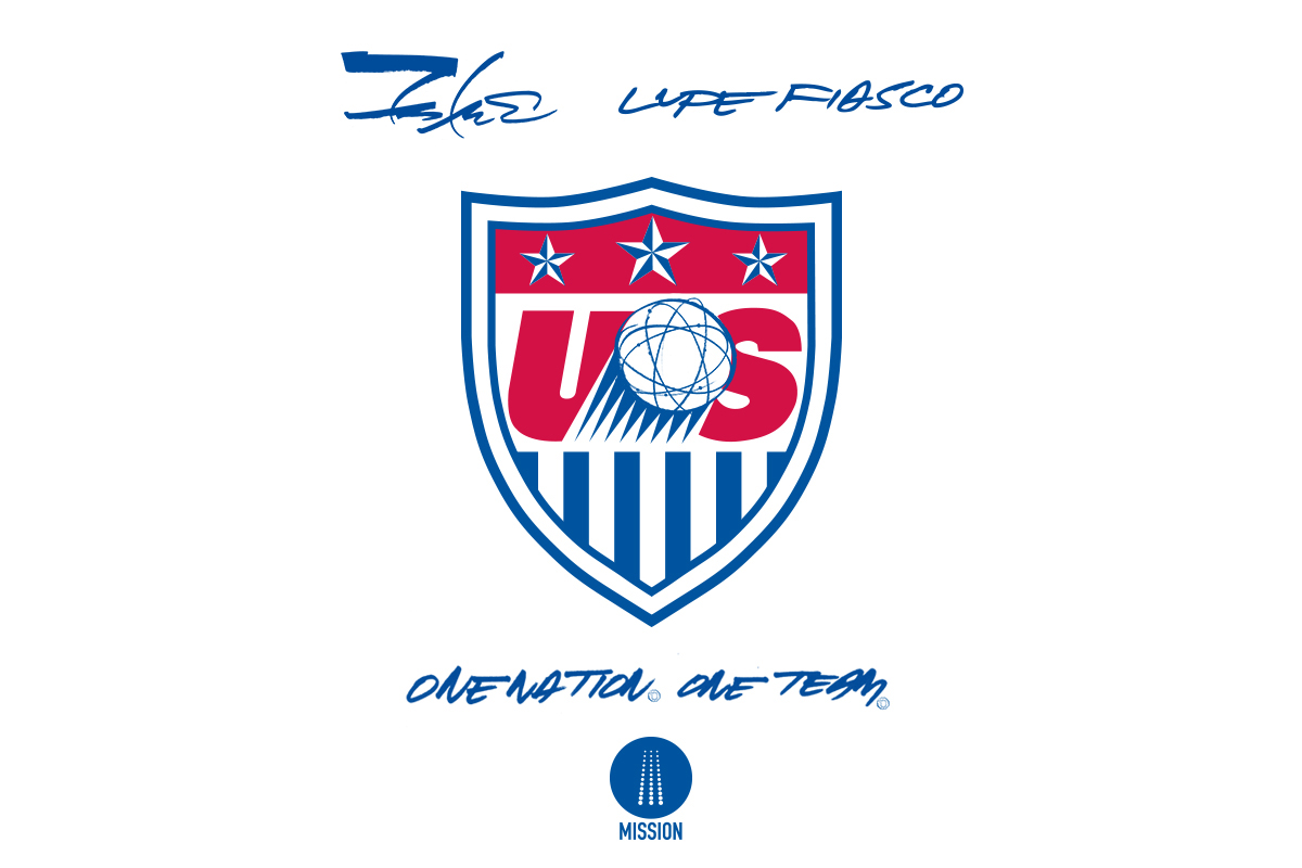 Lupe Fiasco and Futura Join U.S. Soccer Campaign for 2014 FIFA World Cup