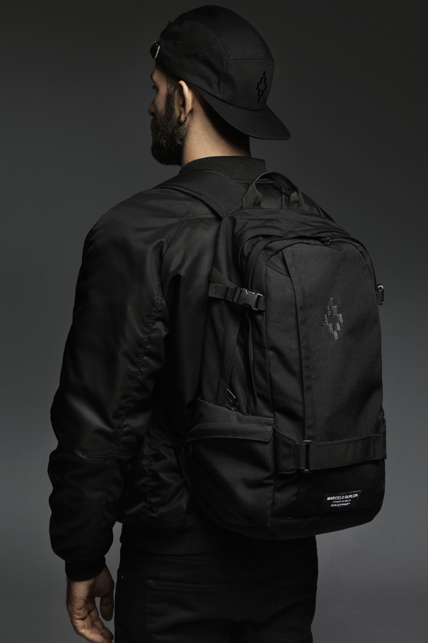marcelo burlon county of milan for eastpak 2014 spring summer collection
