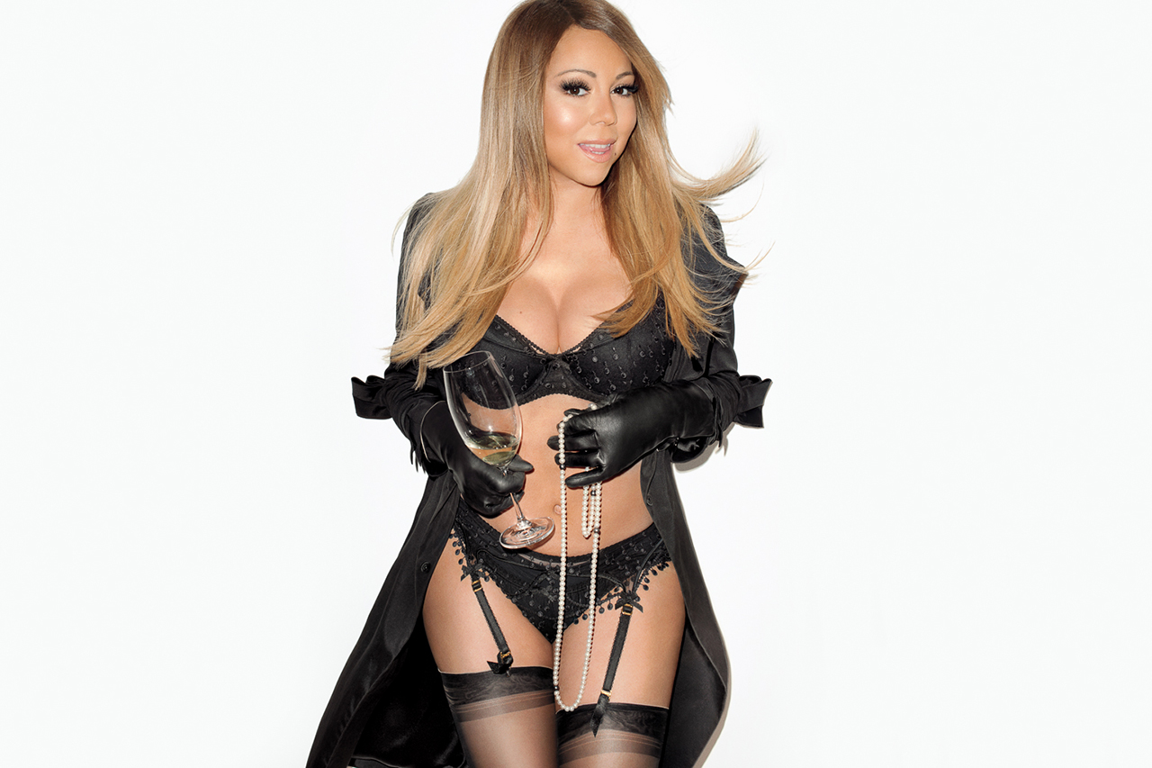 mariah carey visits terry richardsons studio