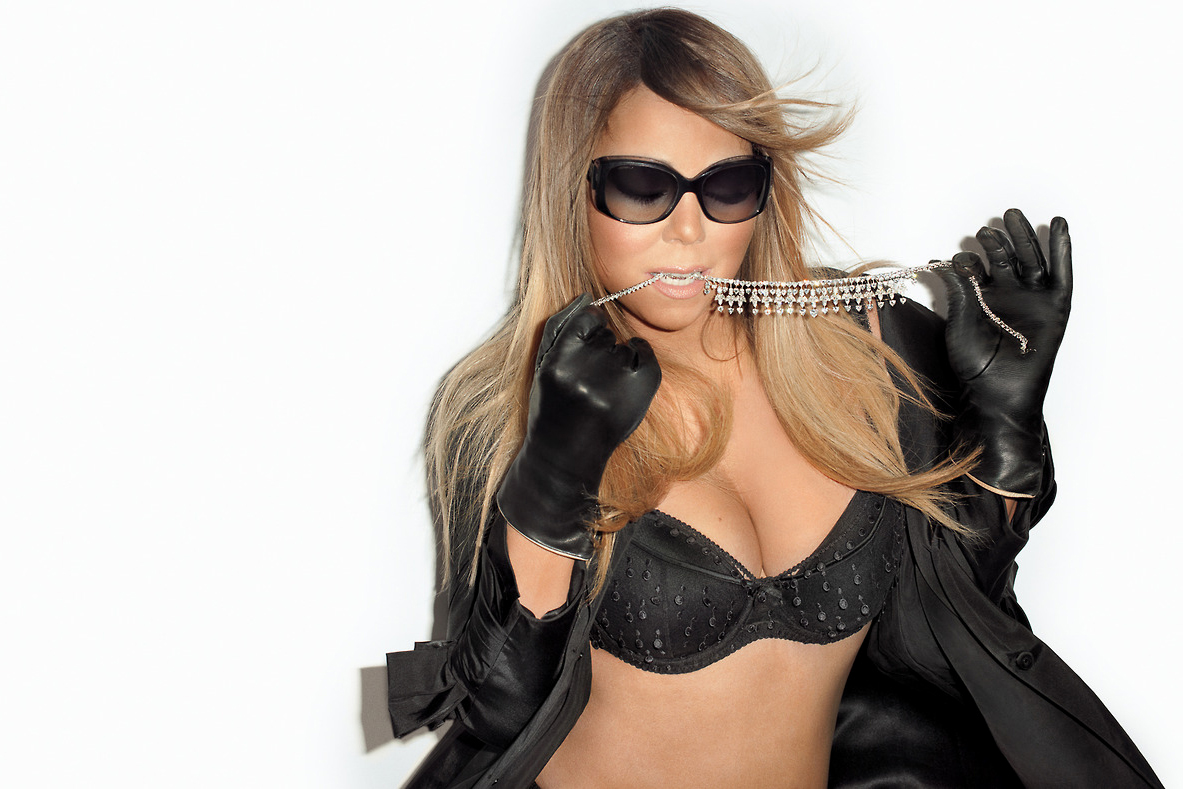 Mariah Carey Visits Terry Richardson's Studio