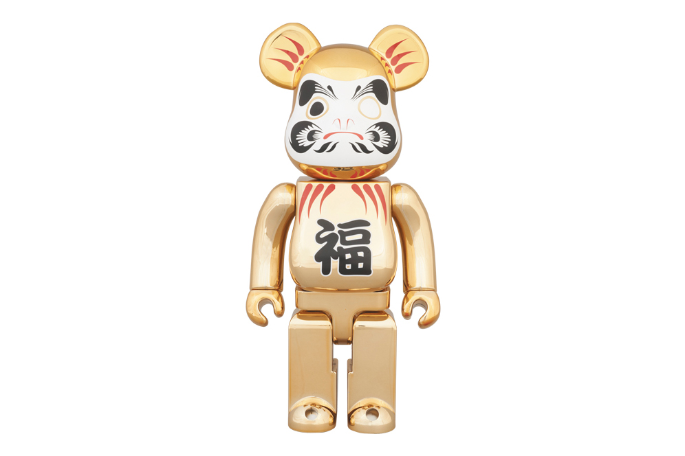 Medicom Toy Tokyo Skytree Town Solamachi Store 2nd Anniversary 400% Gold-Plated Daruma Bearbrick