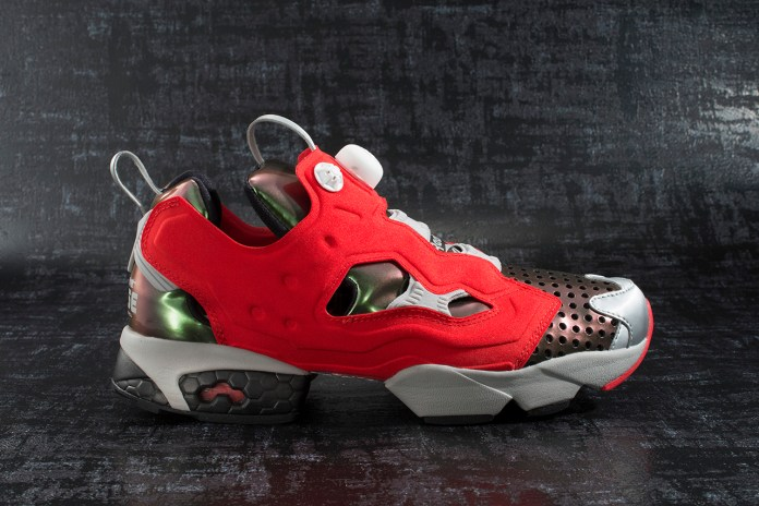 "Megahouse Toys x Reebok Instapump Fury ""Ghost In The Shell"""