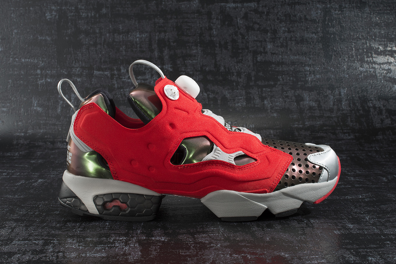 """Megahouse Toys x Reebok Instapump Fury """"Ghost In The Shell"""""""