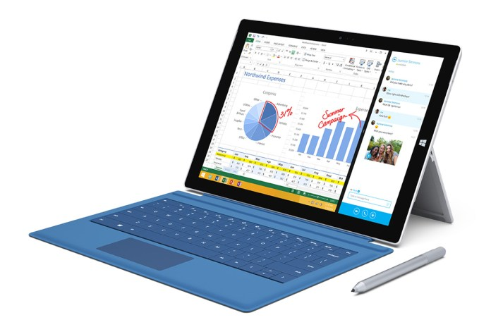 Microsoft Unveils the Surface Pro 3