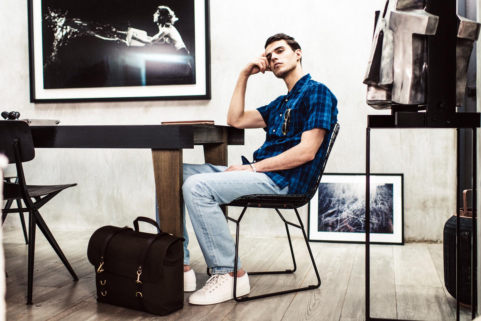 """MR PORTER 2014 Spring/Summer """"Simplicity"""" Editorial"""
