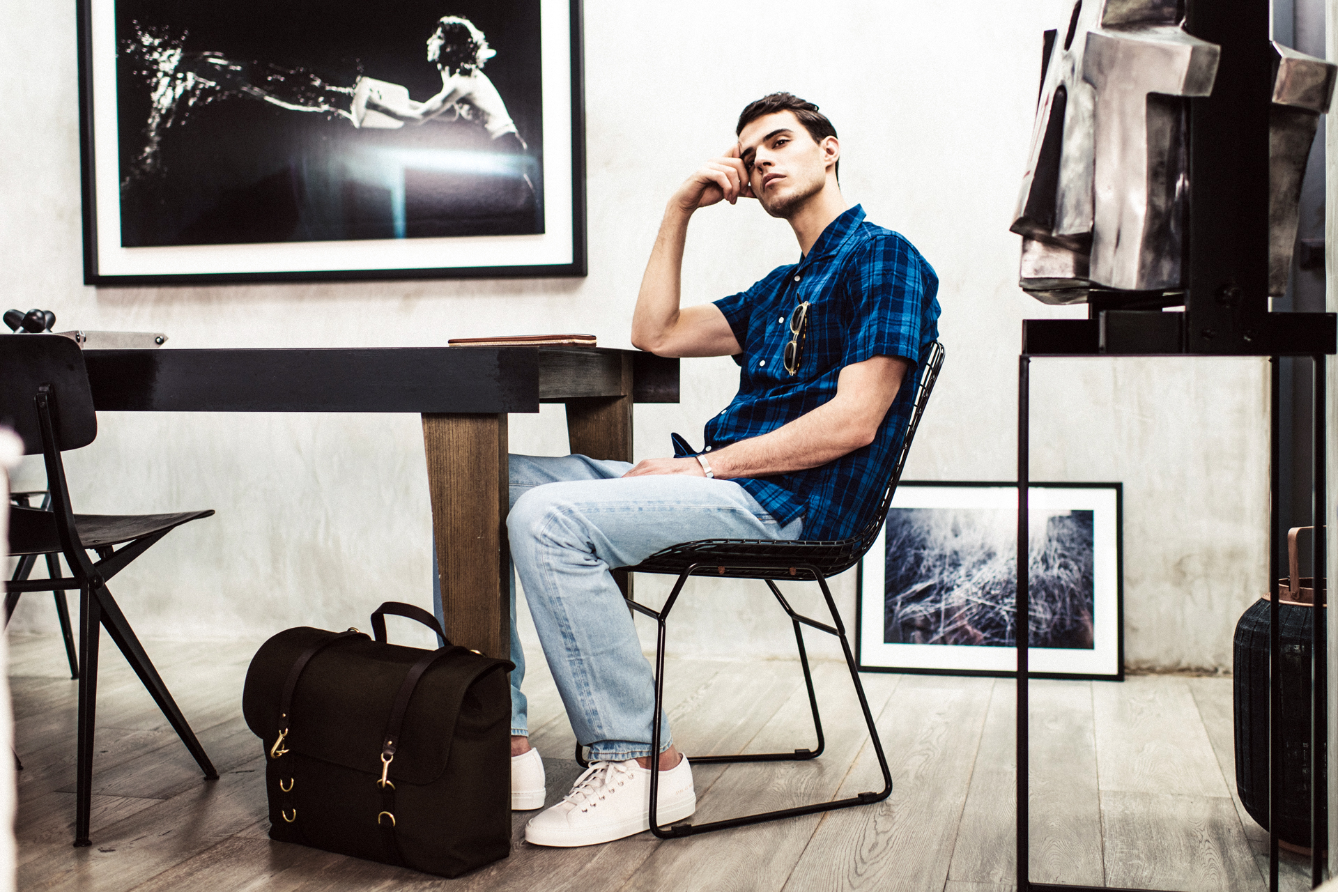 "MR PORTER 2014 Spring/Summer ""Simplicity"" Editorial"