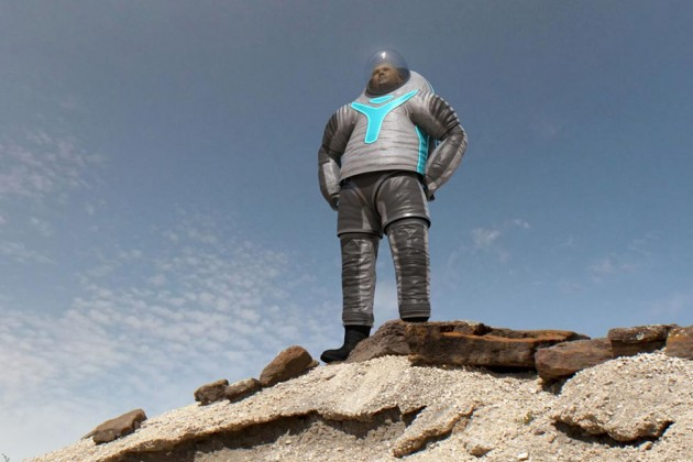 NASA's New Z-2 Spacesuit