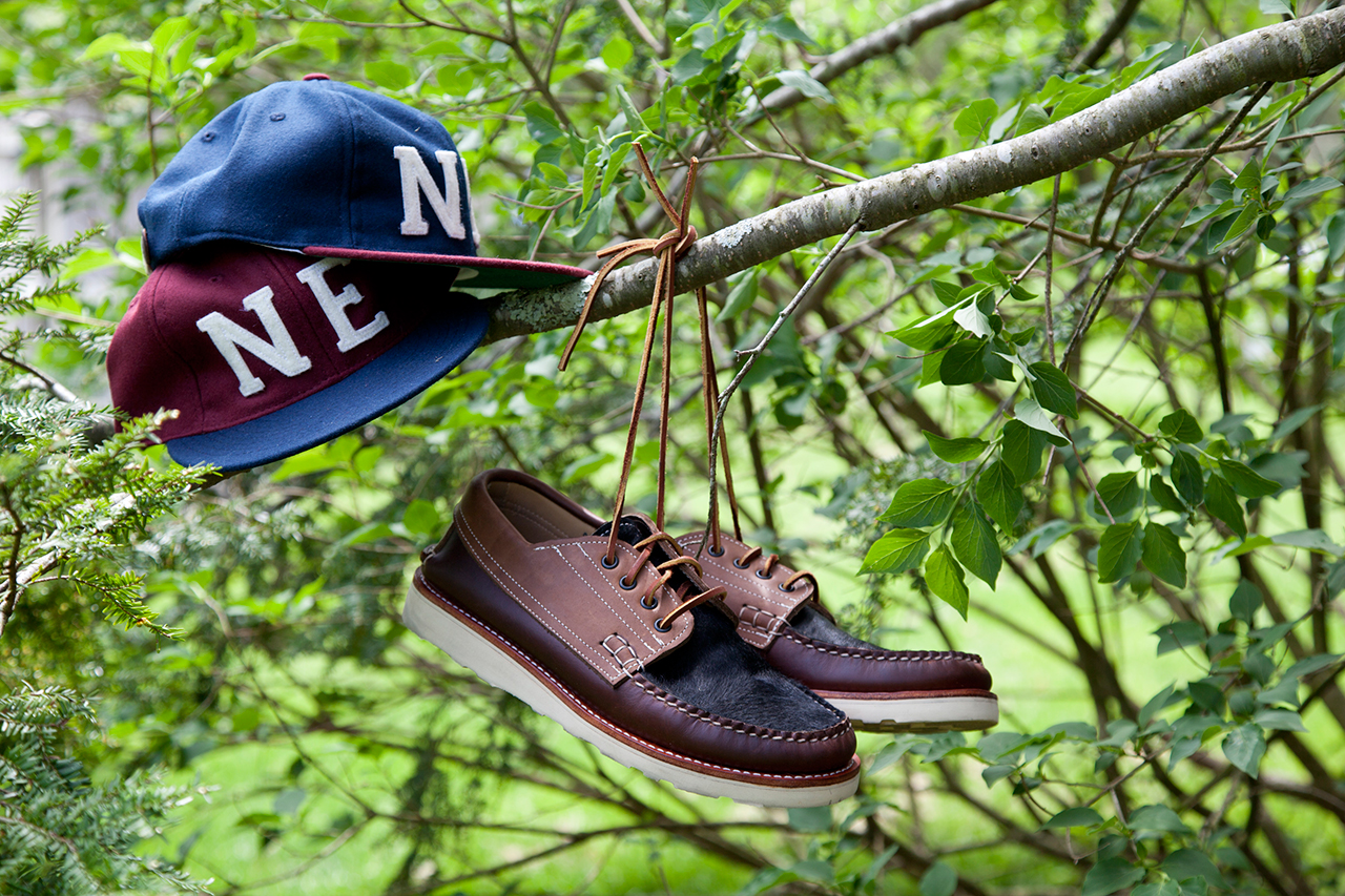 New England Outerwear Co. x Ebbets Field Flannels 6-panel Cap Collection