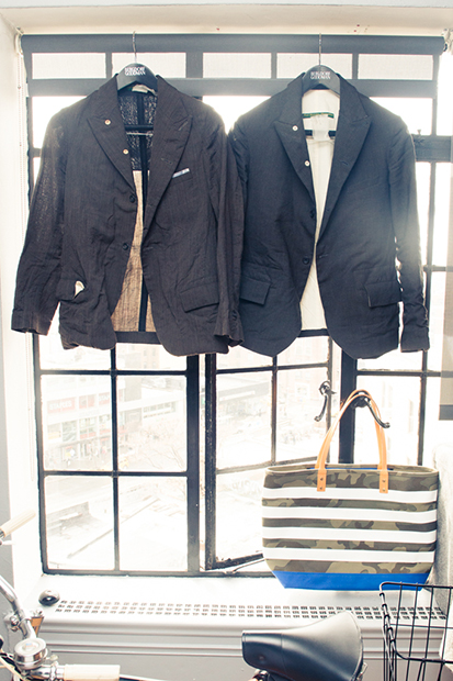 the coveteur takes us inside nick woosters closet