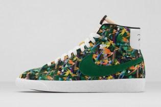 "Nike Blazer Mid Premium Vintage ""Floral"" City Pack"