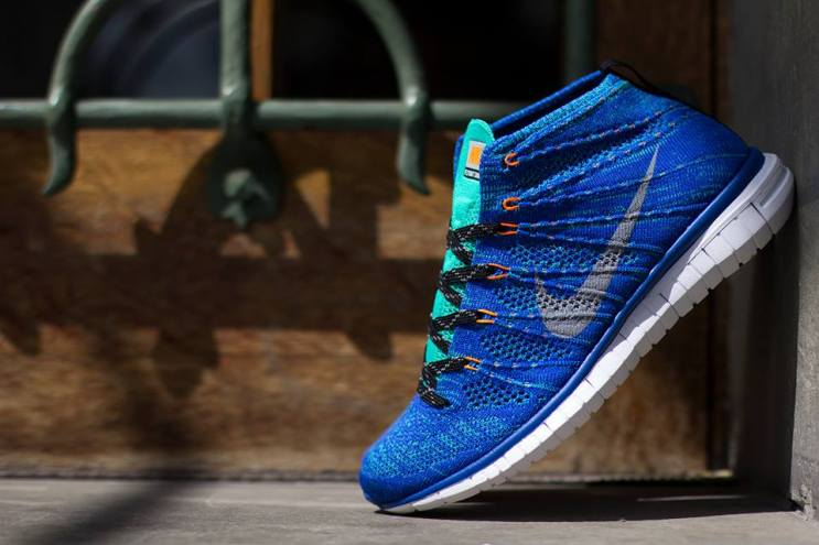 Nike Free Flyknit Chukka Game Royal/Wolf Grey