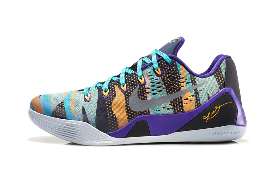 Nike Kobe 9 EM Court Purple/Atomic Mango-Turquoise