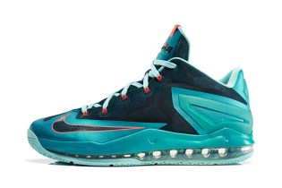 "Nike LeBron 11 Max Low ""Turbo Green"""