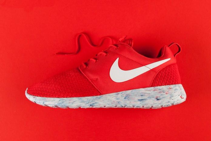 """Nike Roshe Run """"Marble"""" Red"""