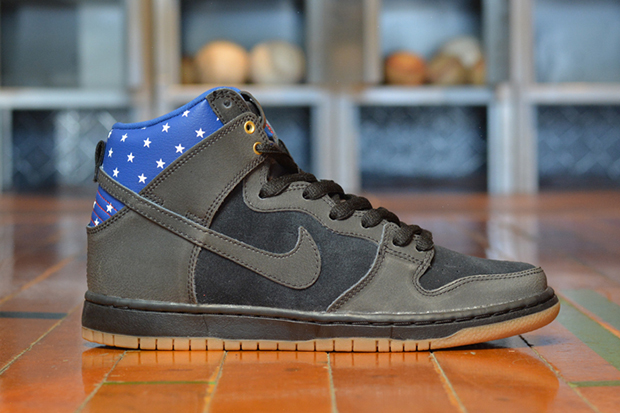 nike sb dunk high captain america
