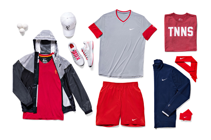 Nike Tennis Unveils 2014 French Open Athlete Looks