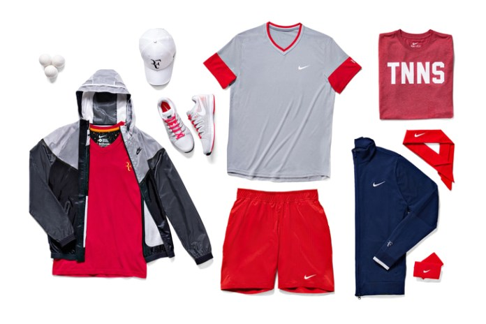 Nike Tennis Unveils 2014 French Open Athlete Looks