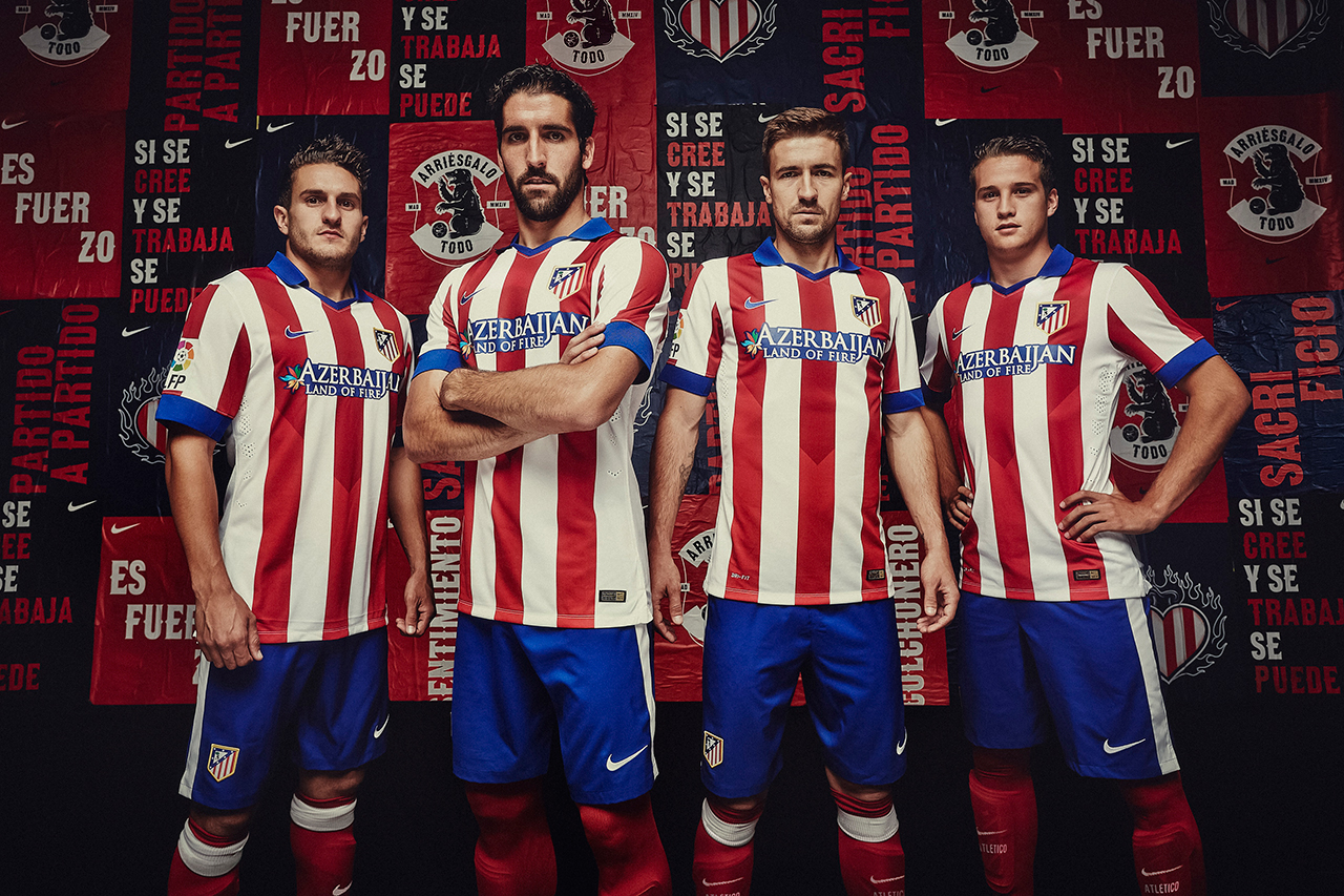 Nike Unveils Atlético Madrid's New 2014/15 Kit