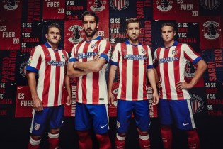 Nike Unveils Atlético Madrid's New 2014/15 Kit