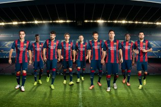 Nike Unveils FC Barcelona's New 2014/15 Kit
