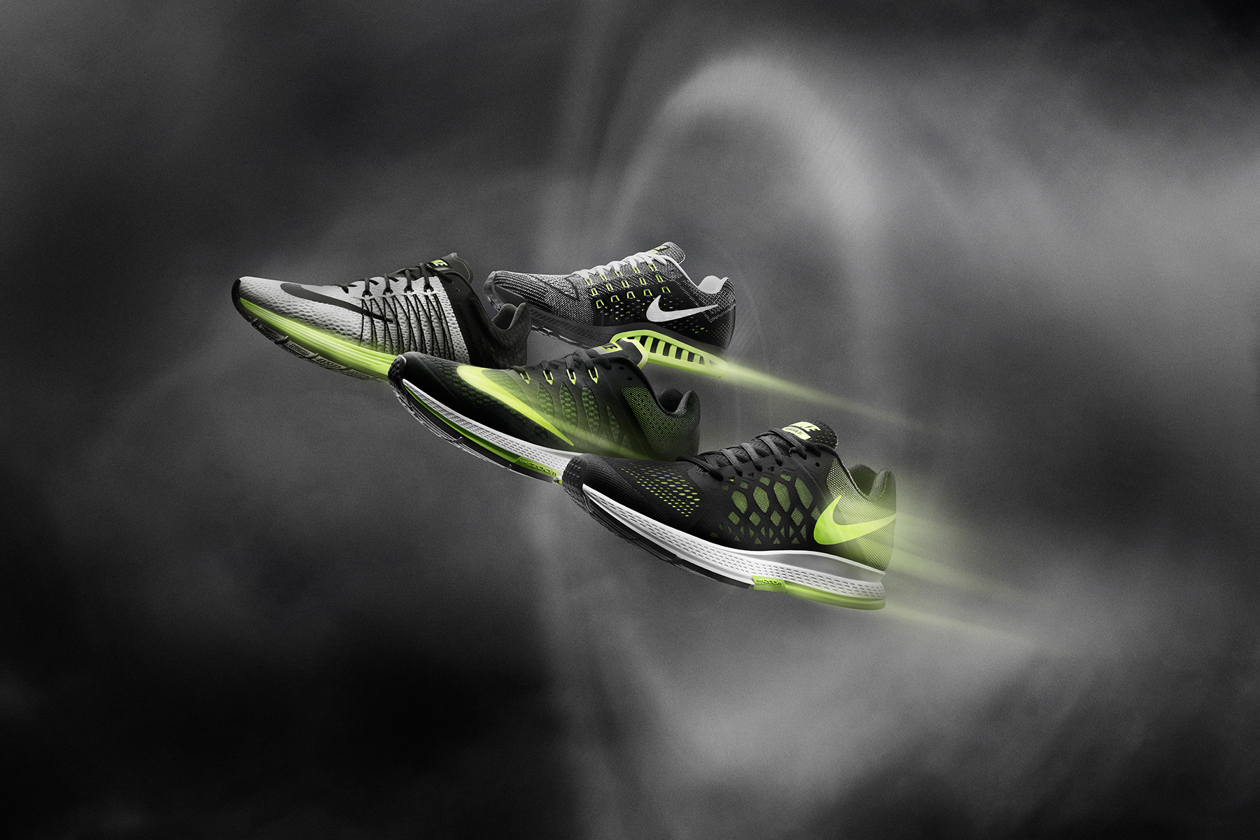 nike running 2014 spring summer zoom air collection
