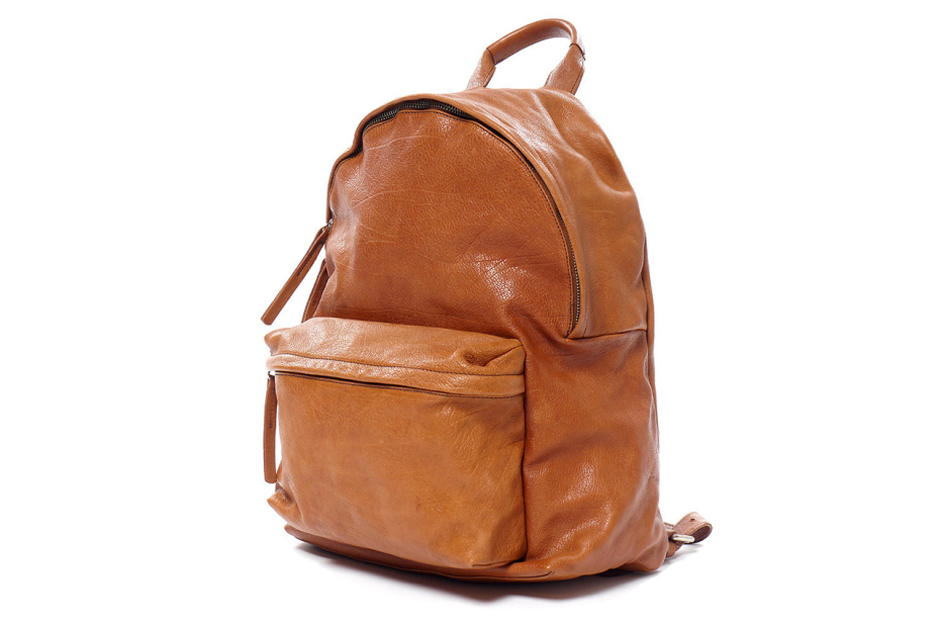 nonnative x officine creative italian cow leather dweller daypack