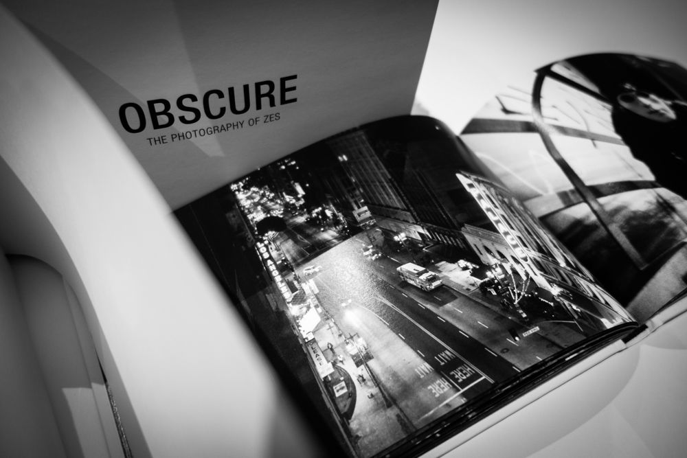 obscure photography book by zes