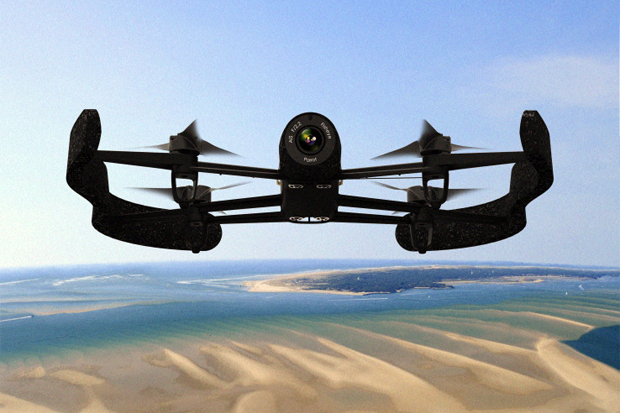 parrot debuts its ar drone 3 0