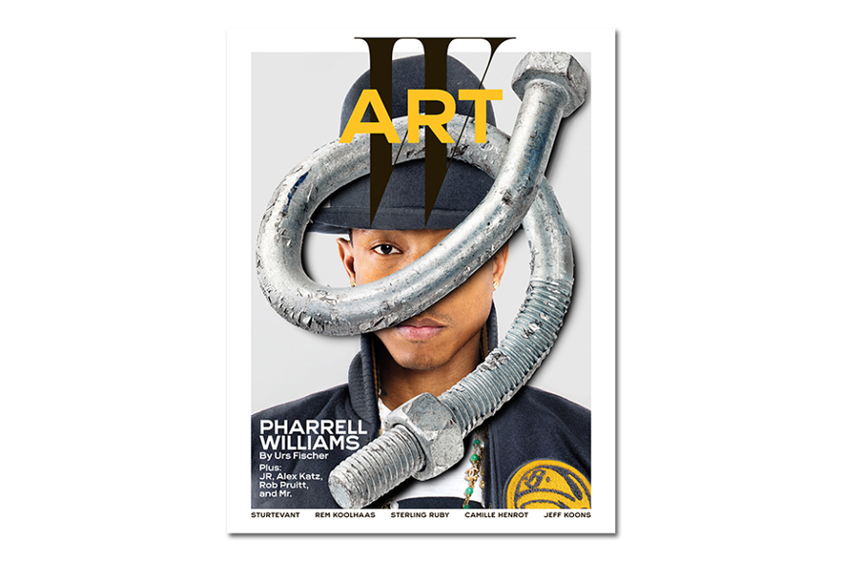 Pharrell Covers W Magazine's Annual Art Issue