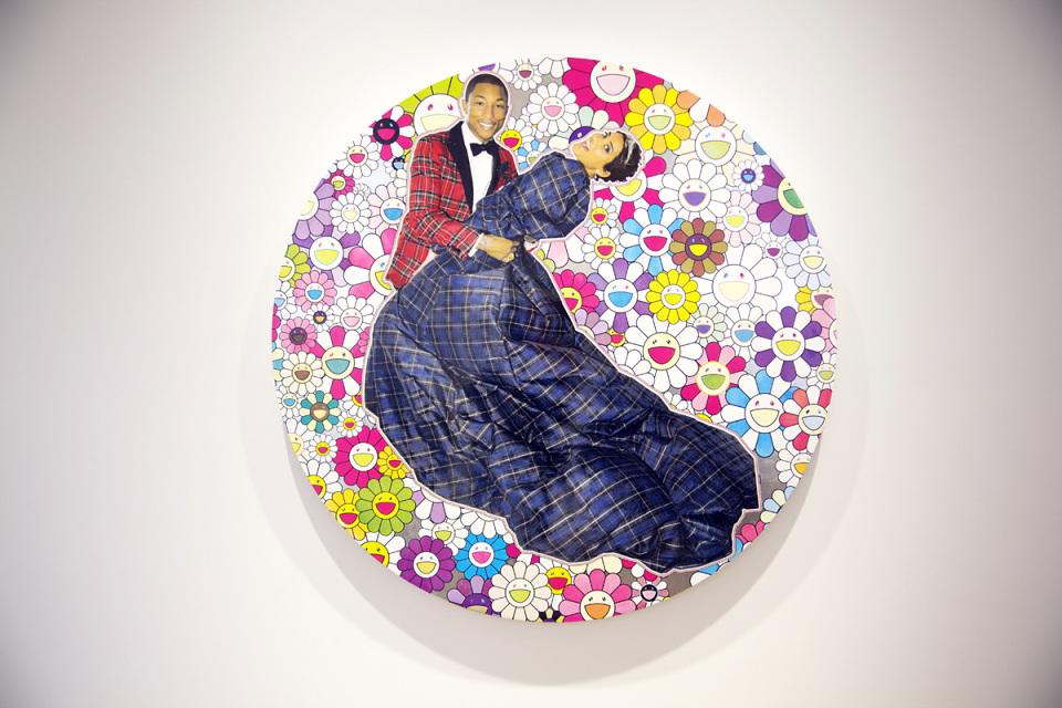 """Pharrell Williams """"G I R L"""" Exhibition @ Galerie Perrotin Recap"""
