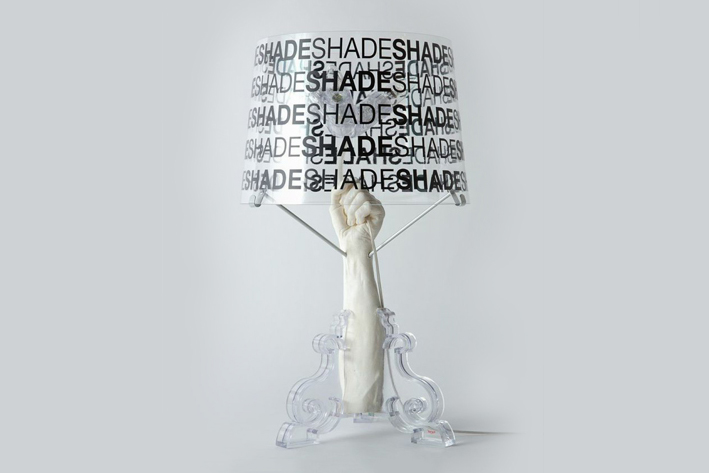 pharrell williams x kartell bourgie lamp