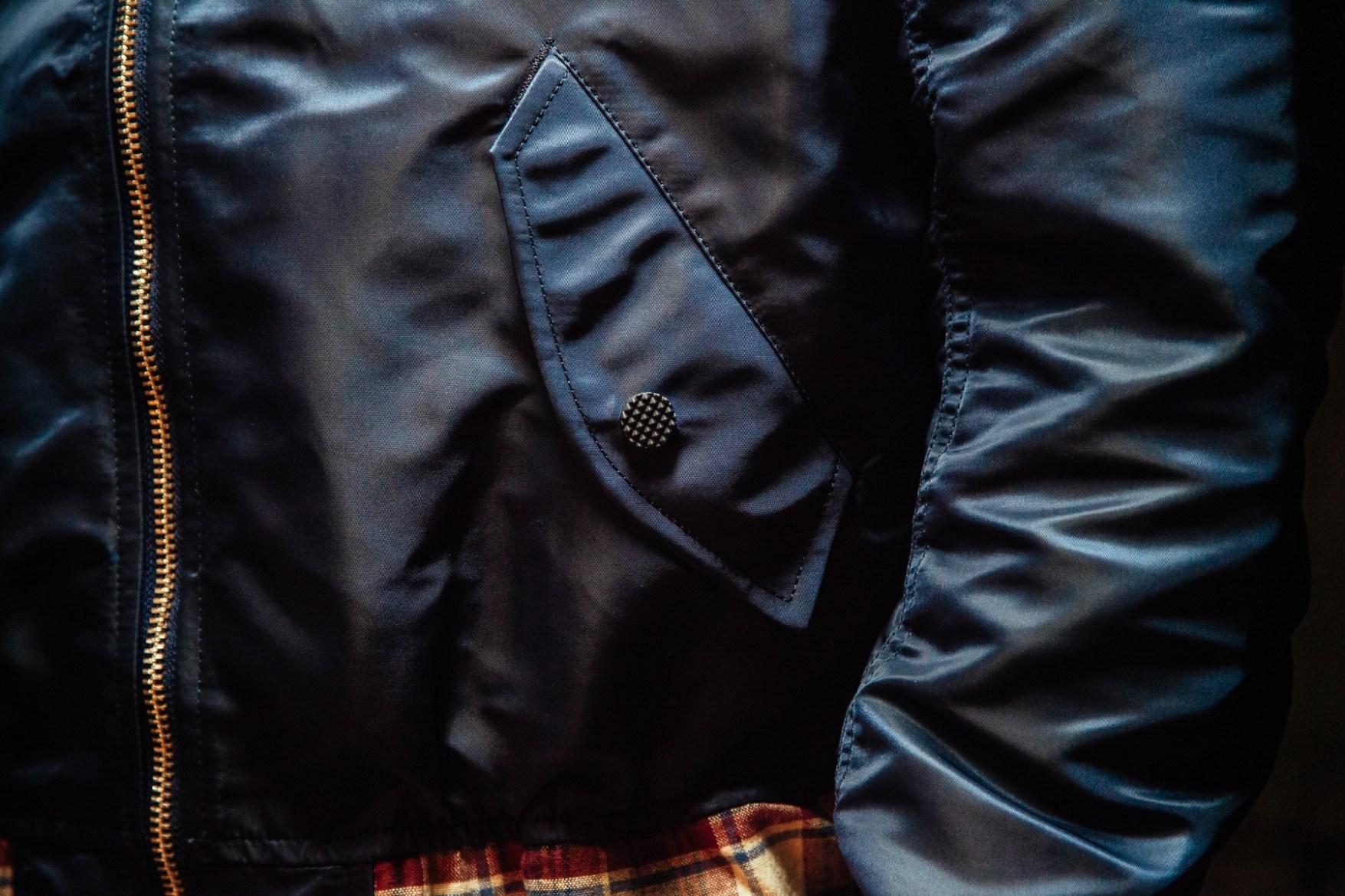 Phenomenon 2014 Spring/Summer Flannel Panel Zip Bomber