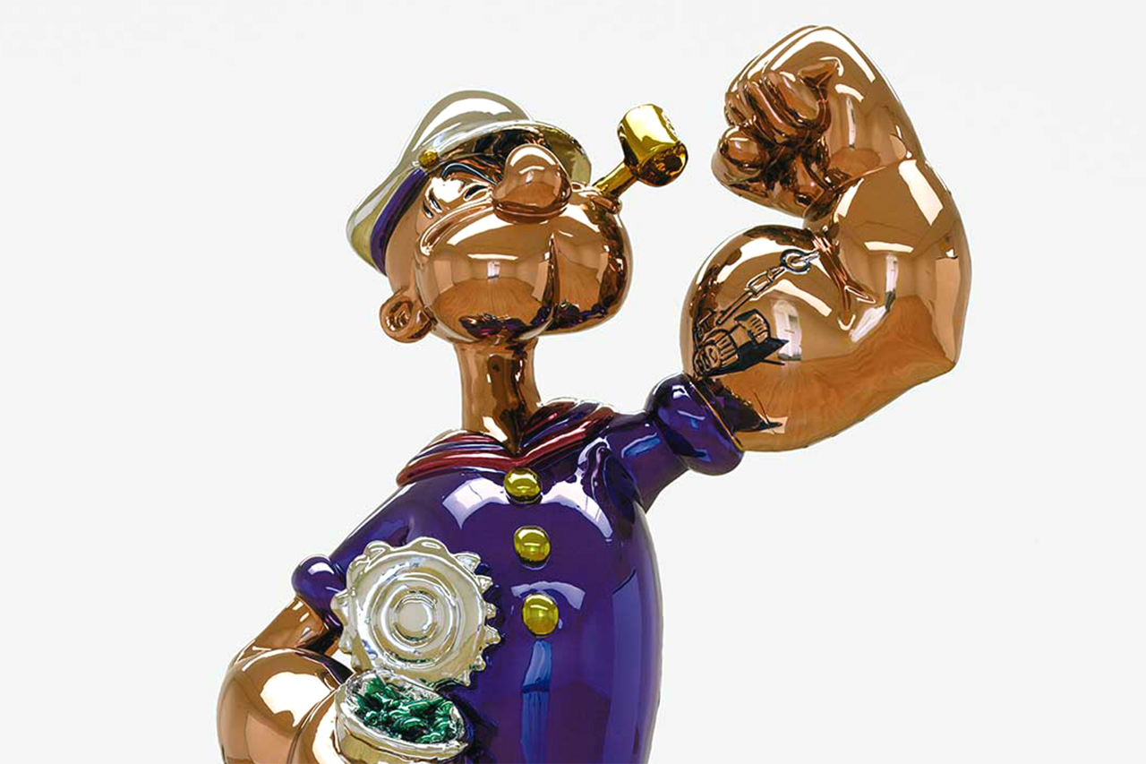 Jeff Koons' 'Popeye' to Debut at Sotheby's